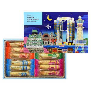 大阪ビュースポット ロールクッキー(12本入)×2箱セット
