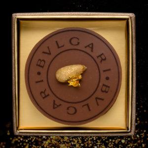 チョコレートジェム1個入り(松の実と栗)