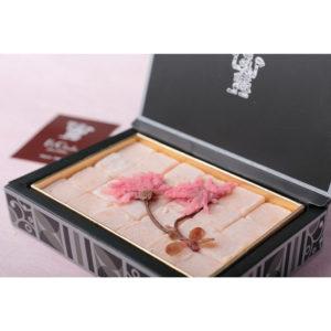 ブルージュの石畳(桜)
